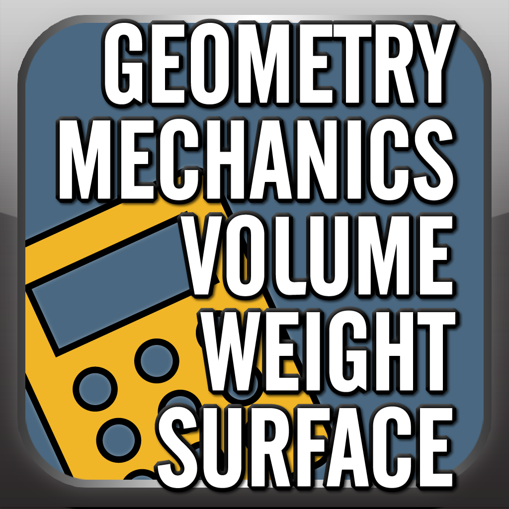 META Calculator: Geometry, Mechanics, Volume, Weight & Surfac...